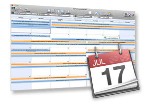 Adding project tasks to iCal calendars