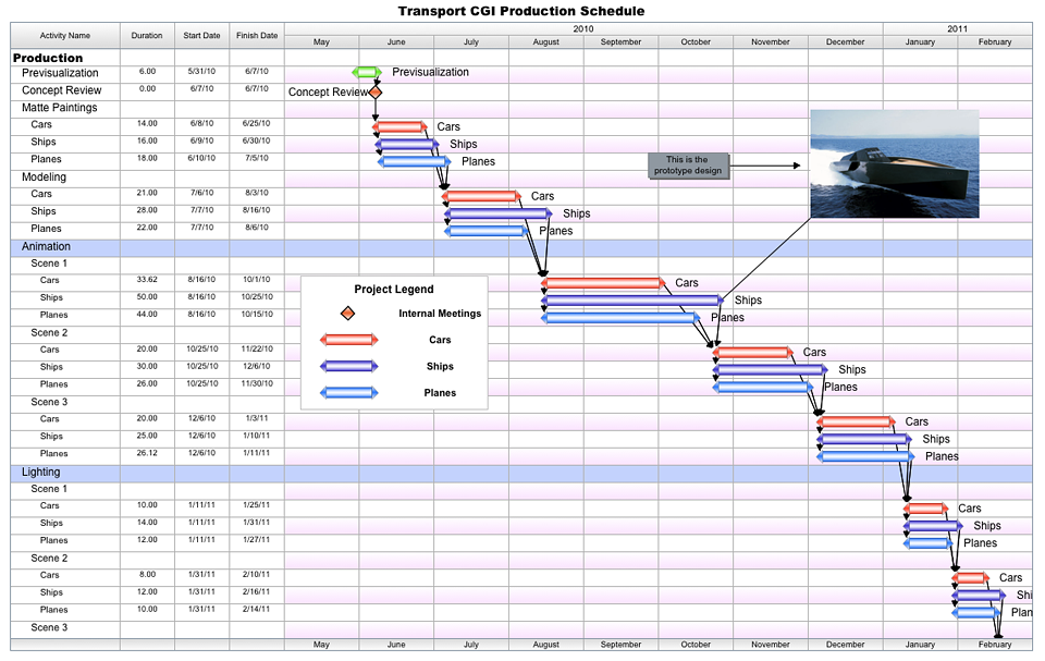 Free project management templates for film tv publishing aec media production pronofoot35fo Image collections